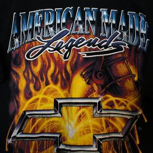 Vintage American Made Legends Chevy T-Shirt Ralph